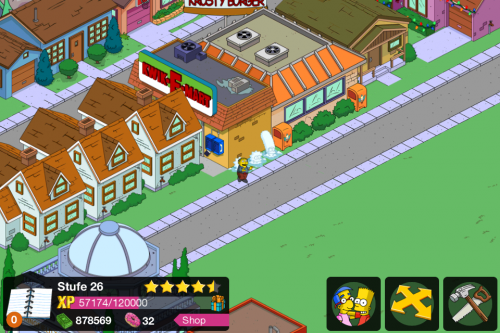 Simpsons Springfield Screen