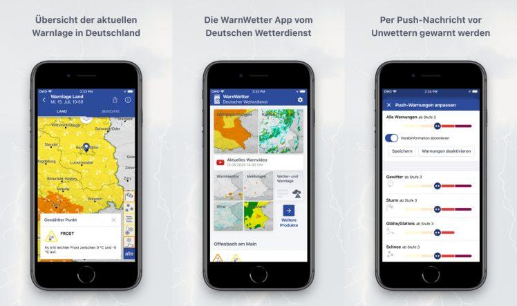 Wetter Dwd App