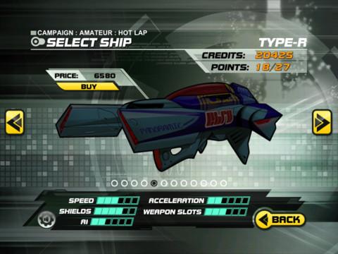 Delta V Racing Screen2