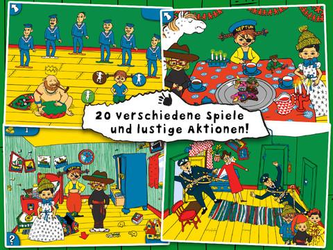 Pippi Langstrumpf Villa Kunterbunt Screen1