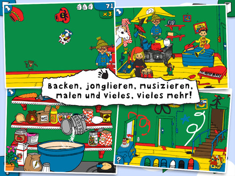Pippi Langstrumpf Villa Kunterbunt Screen2