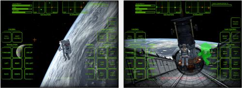 Astronaut Spacewalk iPad