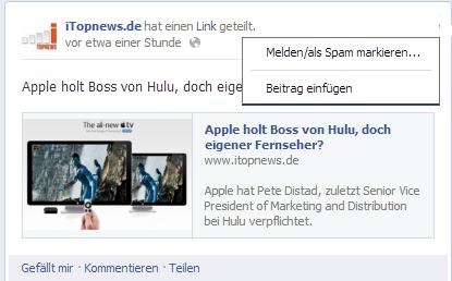Facebook einbetten 1