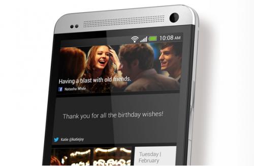 HTC One Ansicht