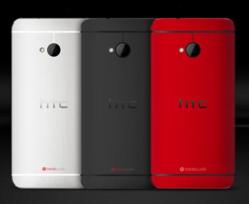 HTC One Dreieransicht