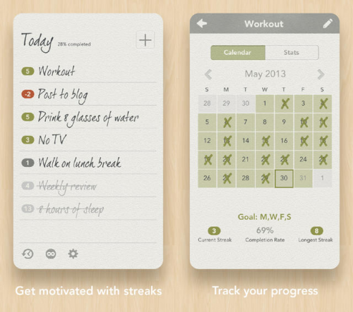 Habit List Screen1