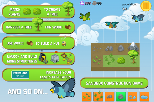 Pocket Land Screen1