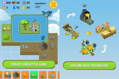Pocket Land Screen2