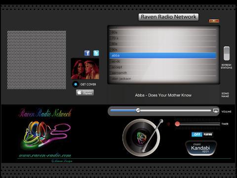 Raven Radio Network Screen1