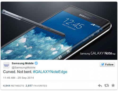 Samsung iPhone Bend