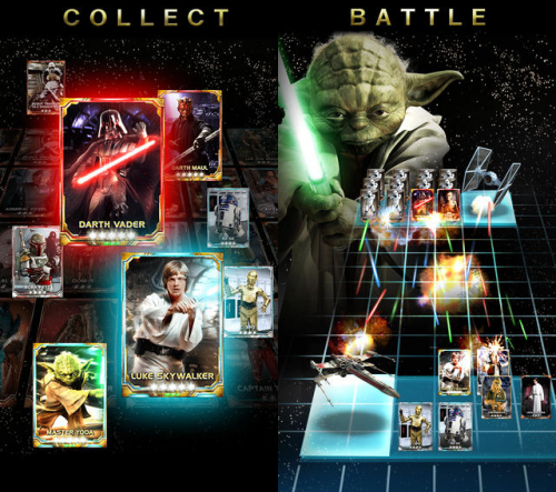 Star Wars Force Collection Screen1