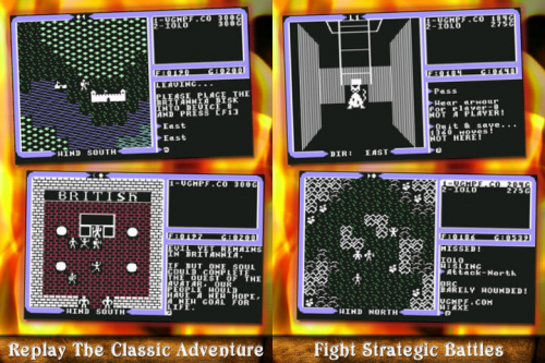 Ultima IV C64 Screen1