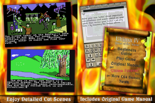Ultima IV C64 Screen2