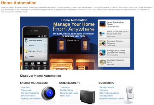 amazon home automation