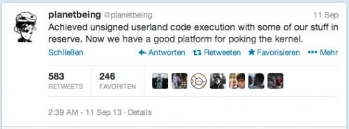 planetbeing Jailbreak iOS 7