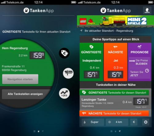 tankenapp screen1