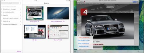 Screens iPad