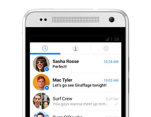facebook messenger neue version