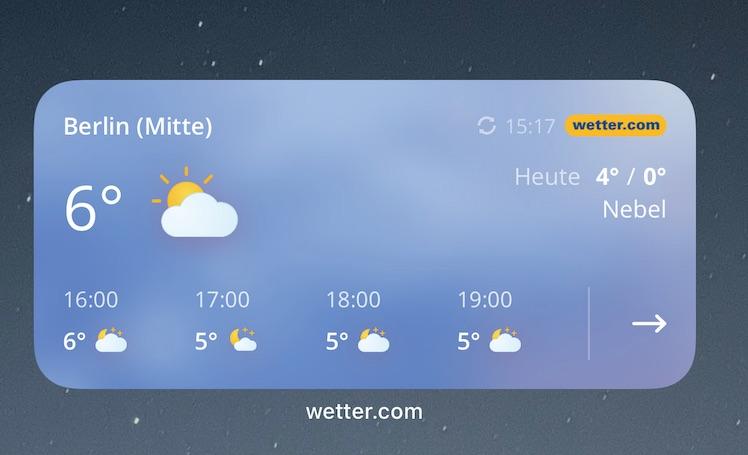 Wetter Com Widget
