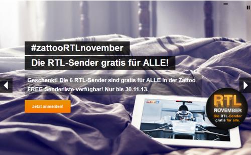 Zatto kostenlos RTL