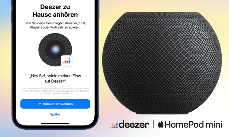 HomePod: Deezer neu als Streaming-Option verfügbar – iTopnews.de – Aktuelle Apple-News & Rabatte zu iPhone, iPad & Mac