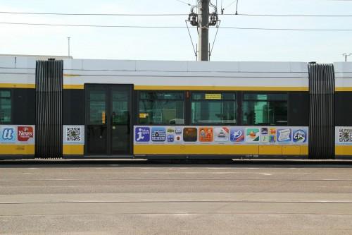 App Strassenbahn Ansicht