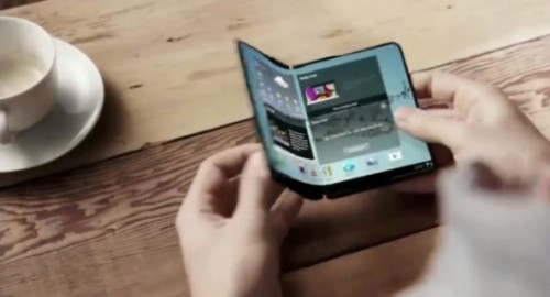 Samsung Display foldable Promo