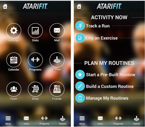 Atari Fit Screen