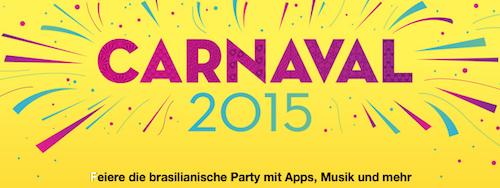 Carnaval Apple 2015 Liste