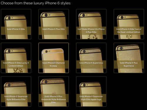iPhone 6 Gold Diamanten