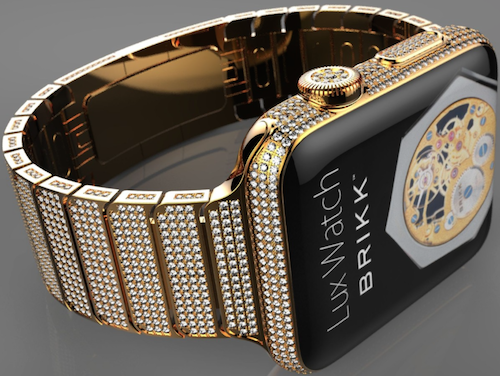 Brikk Diamant Apple Watch