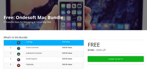 Ondesoft Mac Bundle Stacksocial