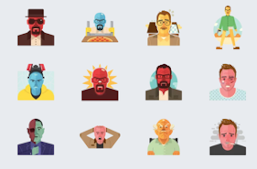 Breaking Bad Sticker Telegram