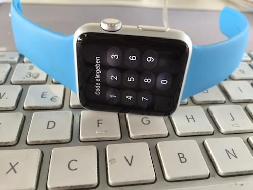 Watch Code Passwort