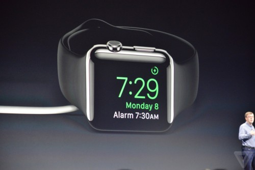 Apple Watch nachttischlampe