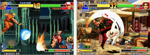 King of Fighters 98 Ansicht