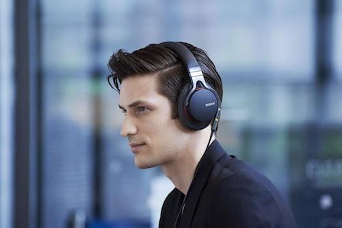 Sony High Resolution Kopfhoerer