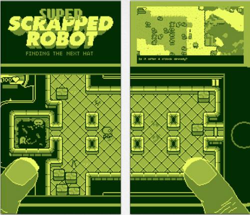 Super Scrapped Robot