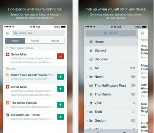 AOL Reader Screen2