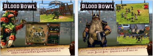 Blood Bowl Ansicht