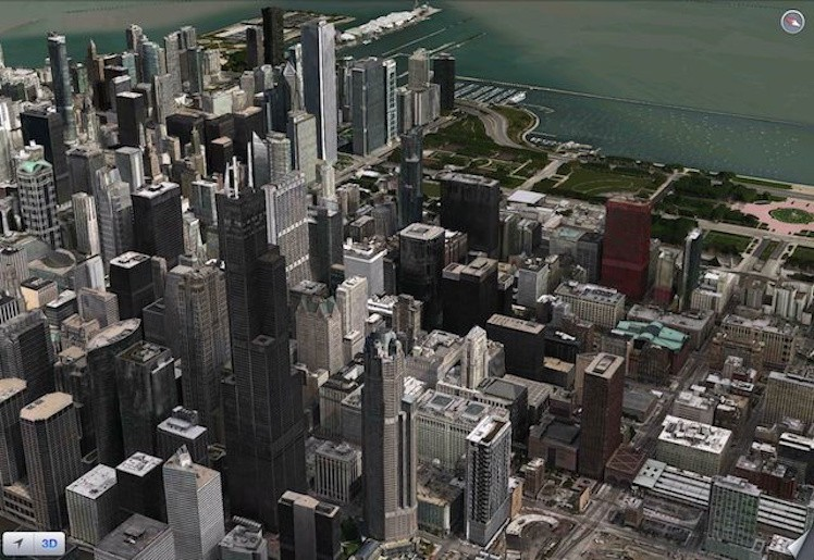 chicago flyover apple maps