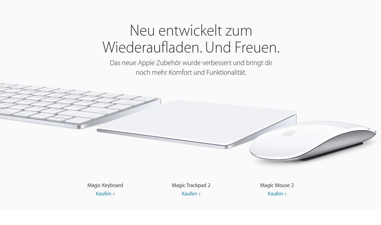 Magic Keyboard Trackpad Mouse Bild