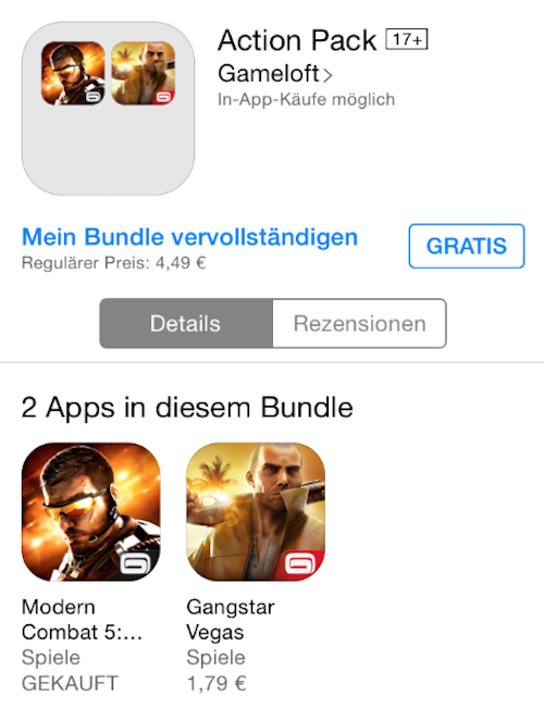 Gameloft Bundle