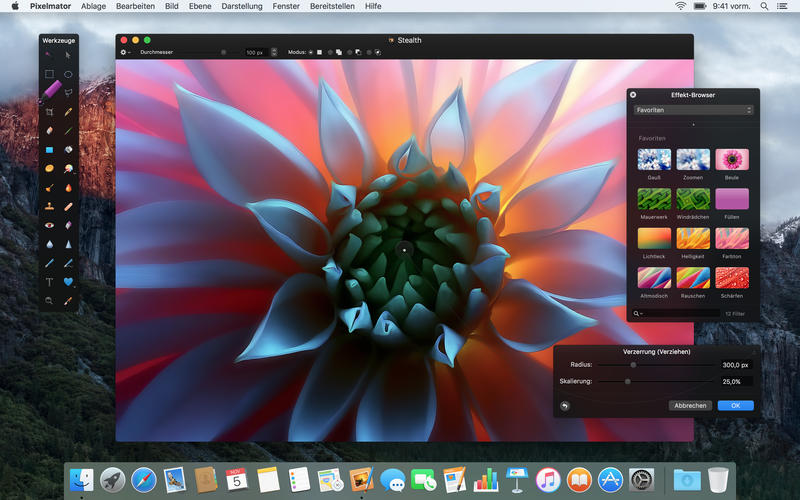 Pixelmator Screen