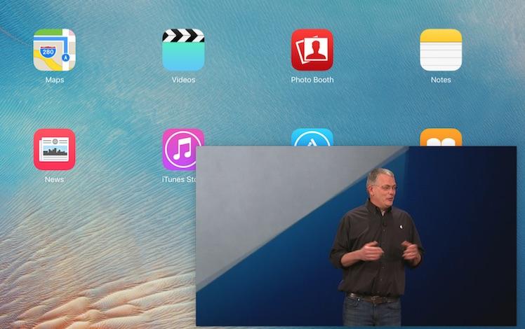 WWDC App Bild in Bild