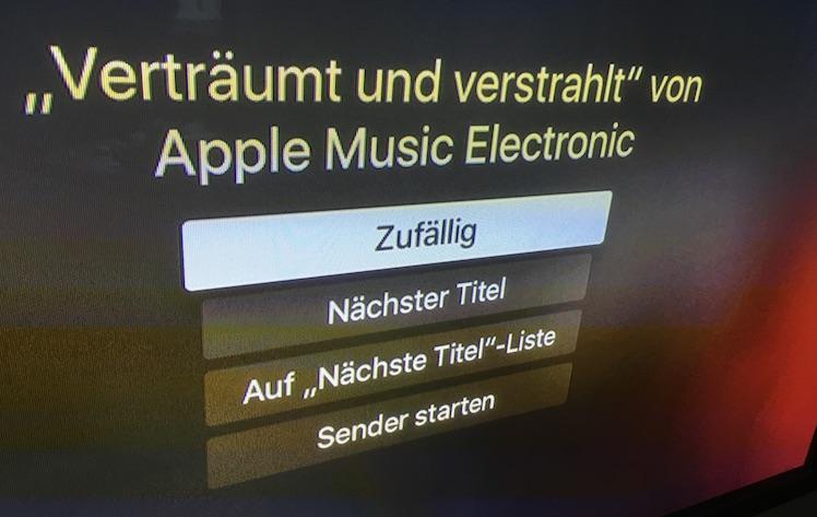 Apple TV Shuffle