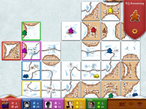 Carcassonne Winter Update Screenshot