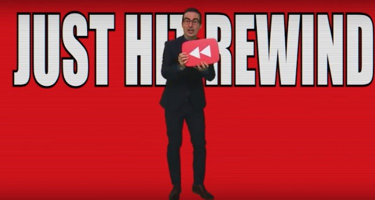 Just hit rewind youtube