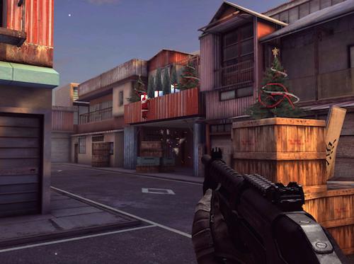 Modern Combat 5 Weihnachtsansicht
