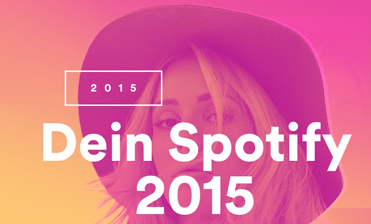 Spotify Jahresueberblick 2015